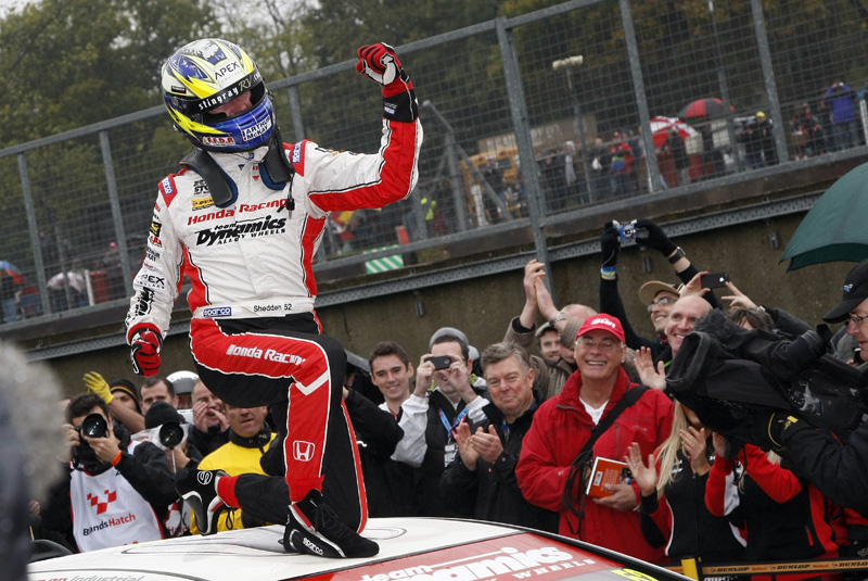 Gordon Shedden BTCC champion