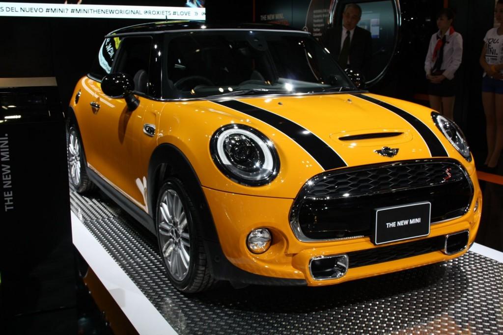 New Mini Cooper S Tokyo motor show