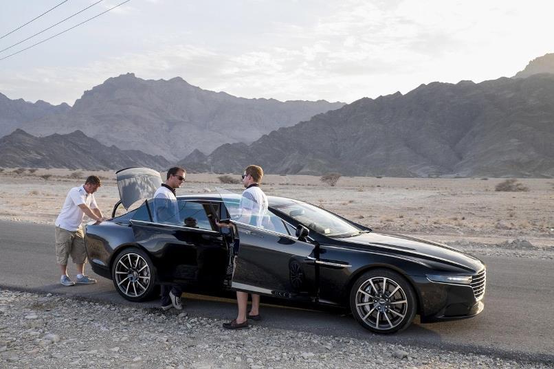 Aston Martin Lagonda testing