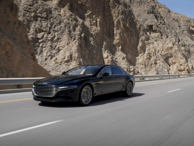 Aston Martin Lagonda front