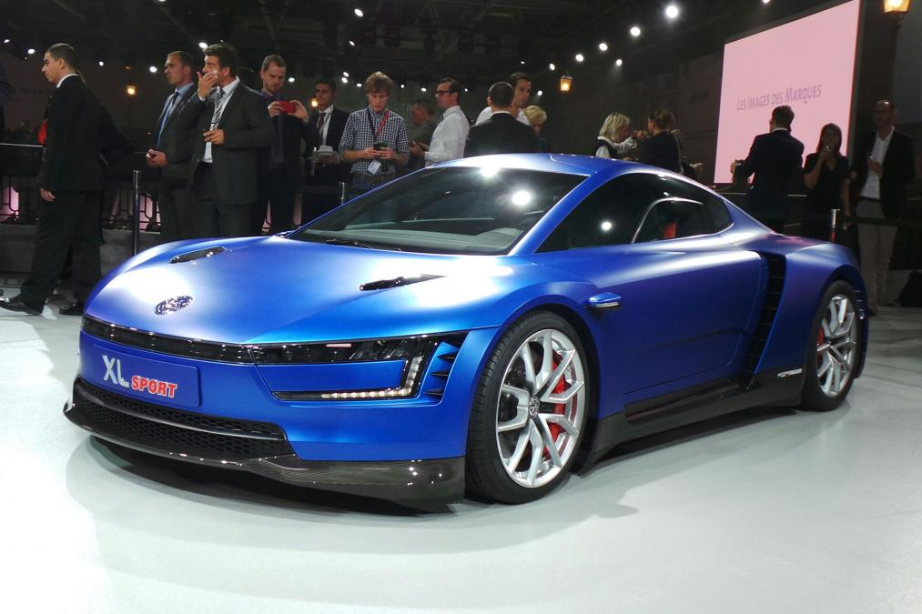 VW XL1 Sport Paris motor show