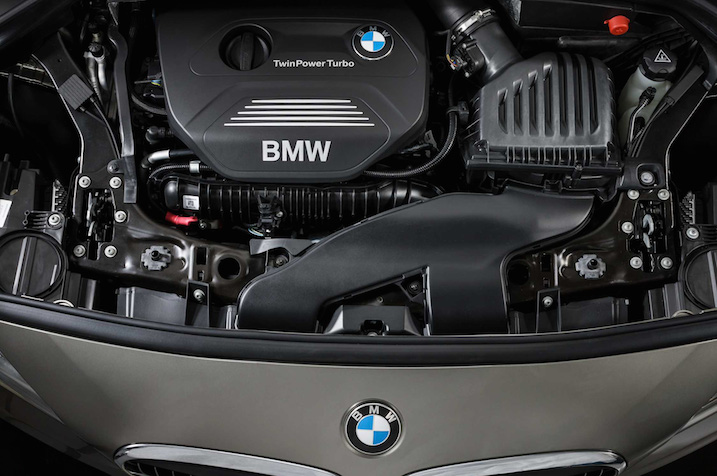 BMW 2-Series Active Tourer engine