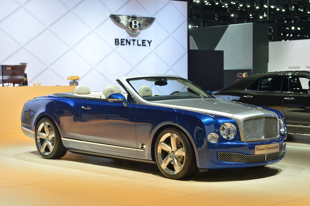 Bentley Grand Convertible concept LA motor show