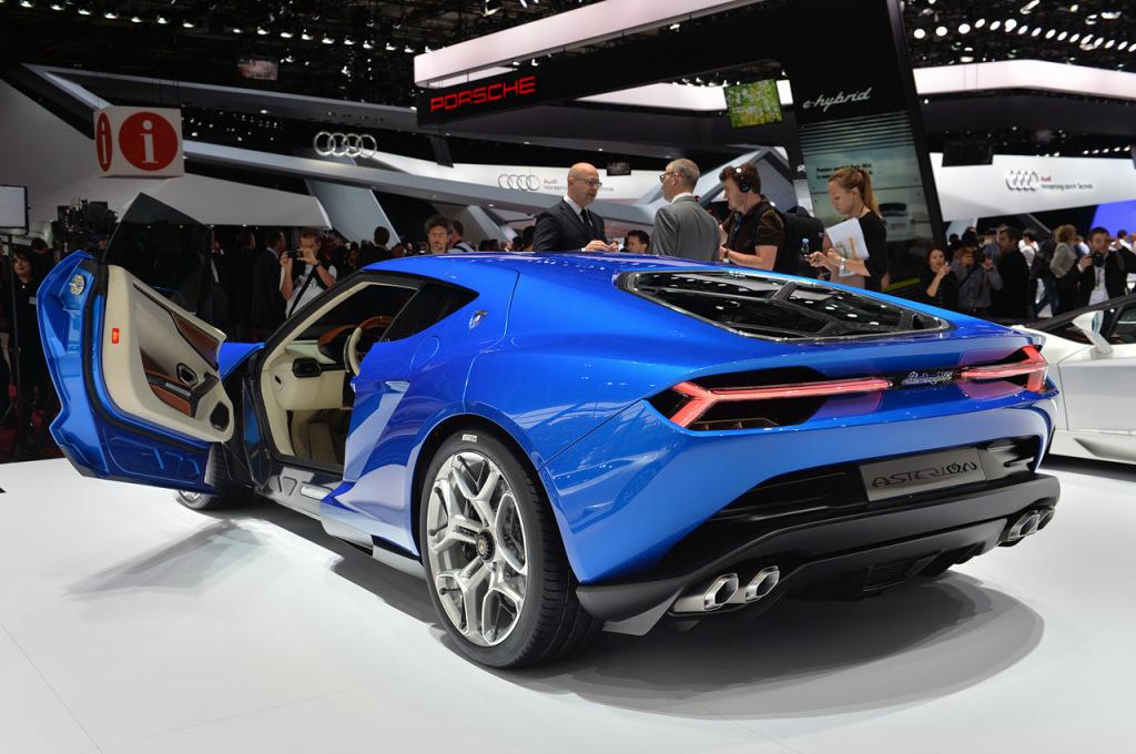 Lamborghini Asterion Paris motor show