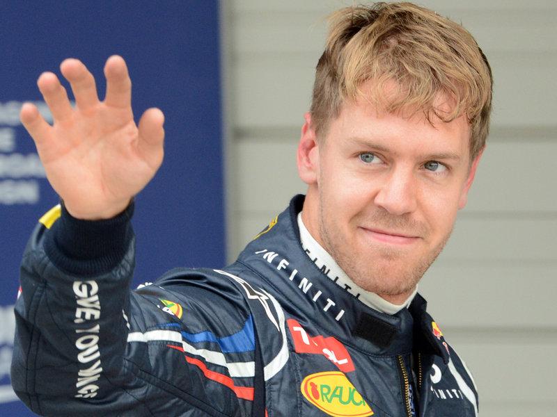 Vettel joins Ferrari