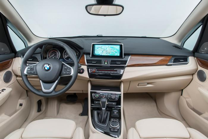 BMW 2-Series Active Tourer interior