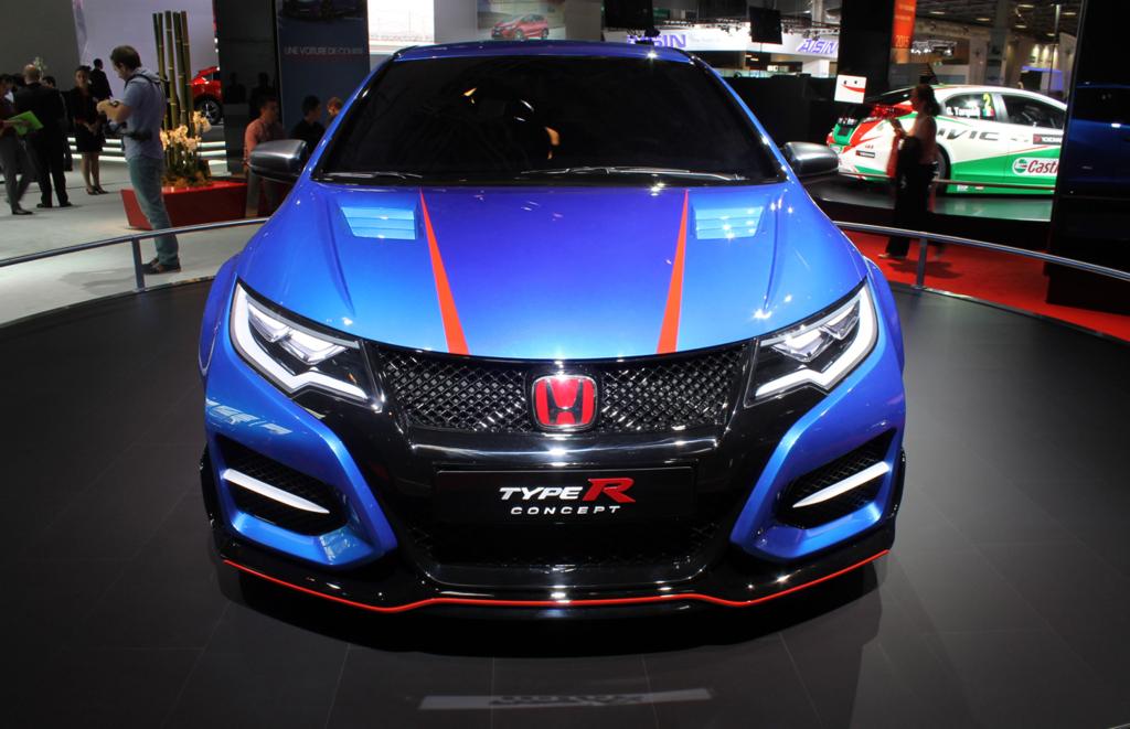 Honda Civic Type R concept Pairs motor show
