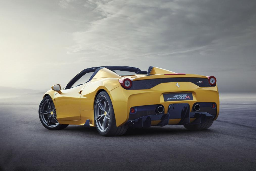 Ferrari 458 Speciale A rear side