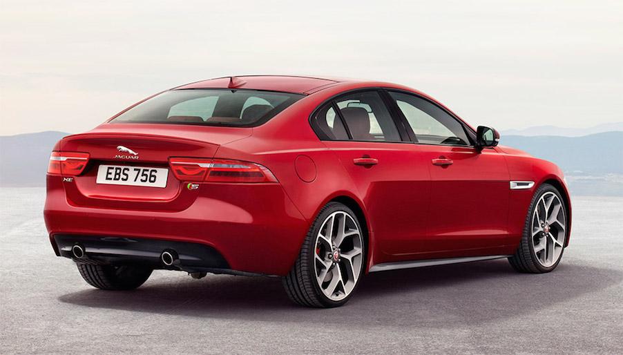 Jaguar XE rear