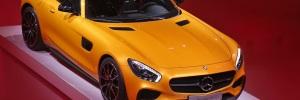 Mercedes AMG GT Paris motor show