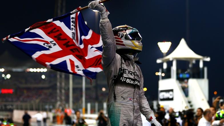 Lewis Hamilton Abu Dhabi