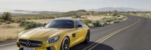 Mercedes-AMG GT front