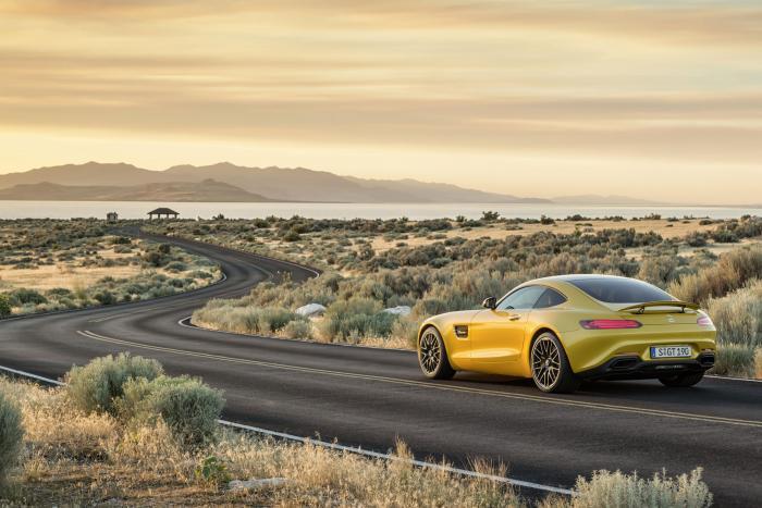 Mercedes-AMG GT rear