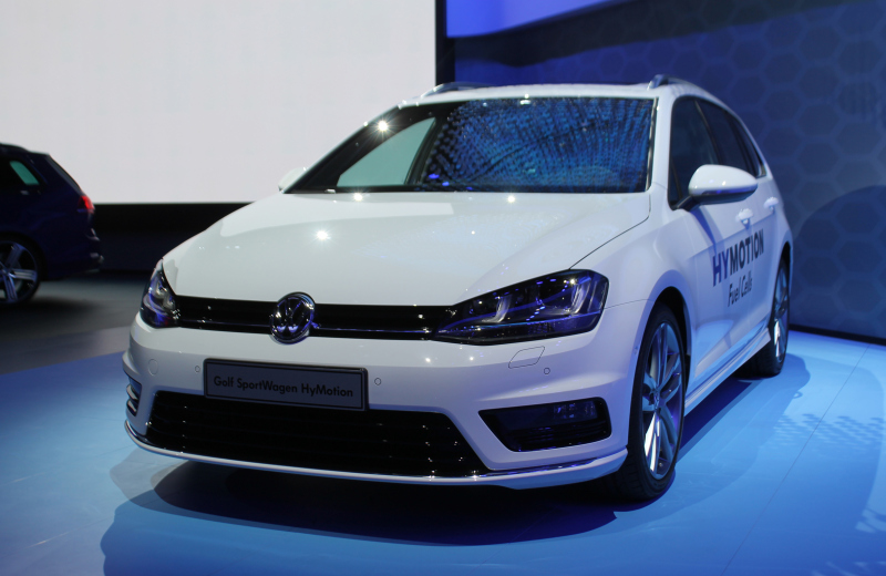 VW Hymotion Golf LA motor show