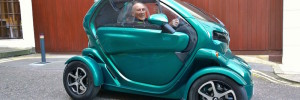 Sir Stirling Moss - Renault Twizy
