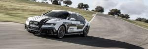 Audi RS7 driverless front