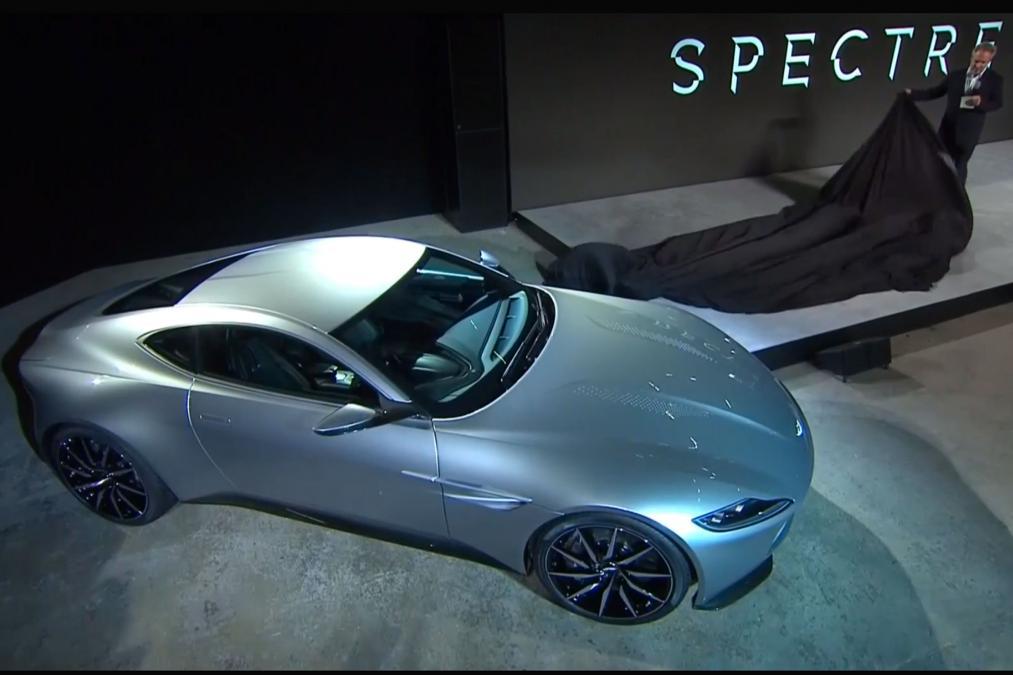 Aston Martin DB10 aerial