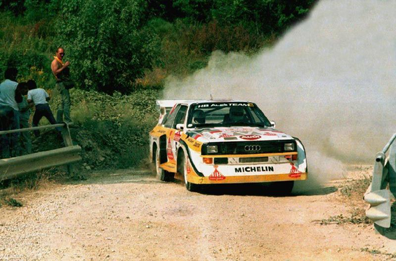 Audi Quattro S1 - Best rally cars
