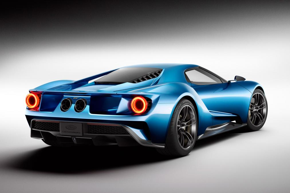 All-new Ford GT Detroit motor show