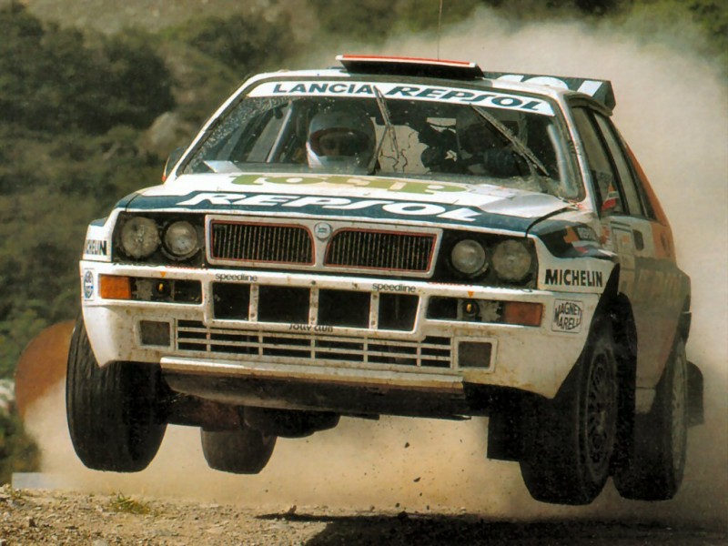 Lancia Delta Integrale - Best rally cars