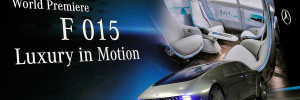 Mercedes F 015 Luxury in Motion CES 2015