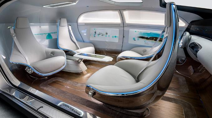 Mercedes-Benz F 015 Luxury in Motion CES 2015