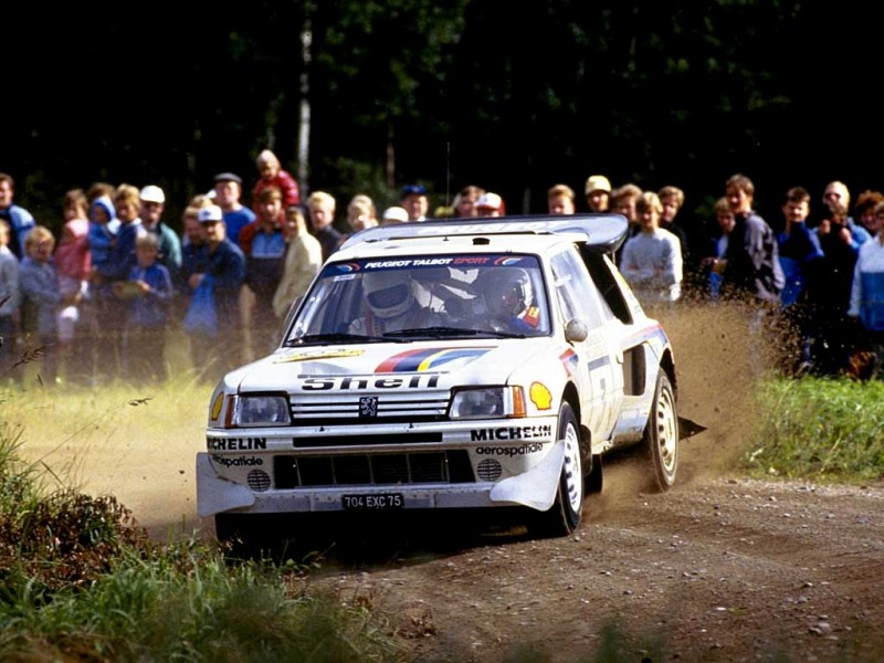 Peugeot 205 Turbo-16 - Best rally cars