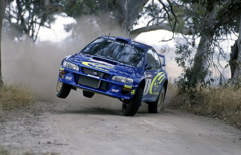 Subaru Impreza Richard Burns - Best rally cars