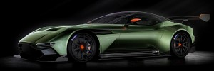 Aston Martin Vulcan - front side