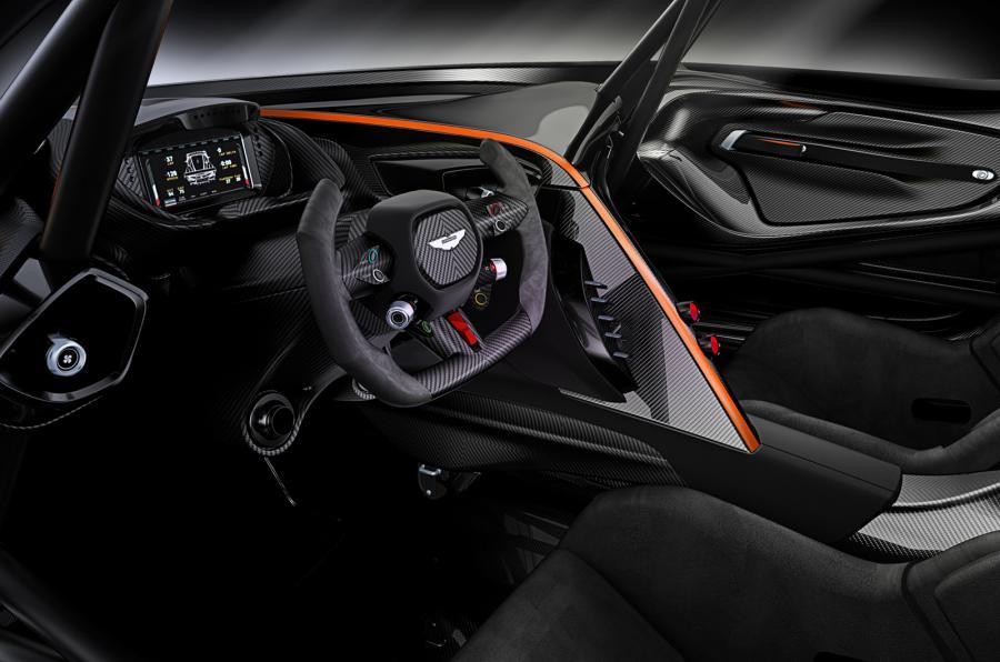 Aston Martin Vulcan - interior