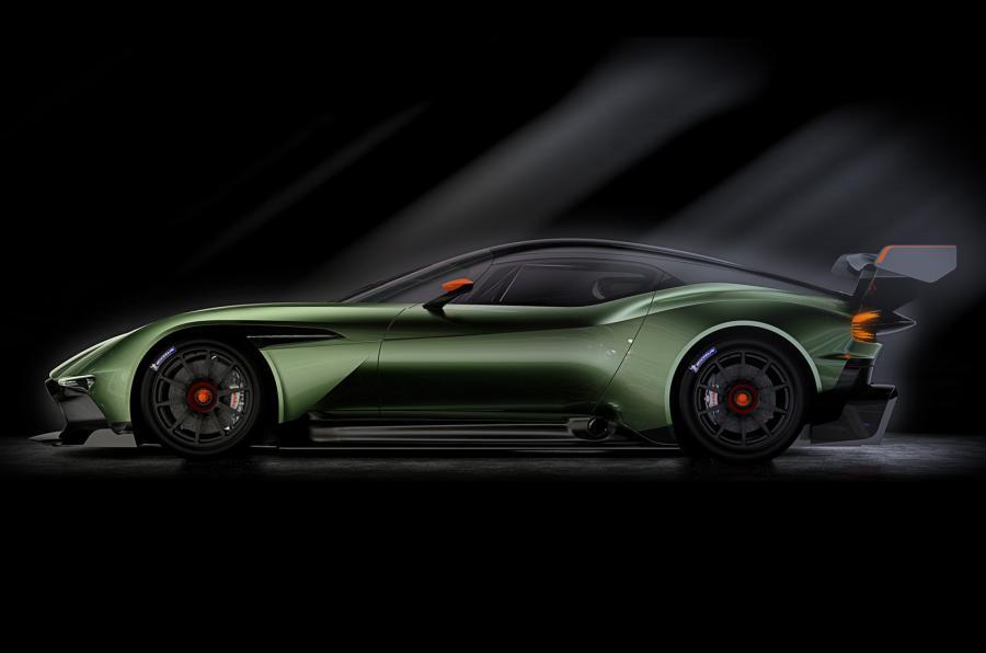 Aston Martin Vulcan - profile