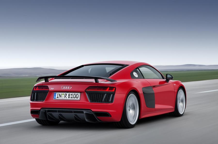 Audi R8 V10 Plus - Rear