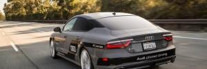 Driverless Audi A7 CES