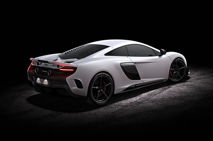 McLaren 675LT - rear