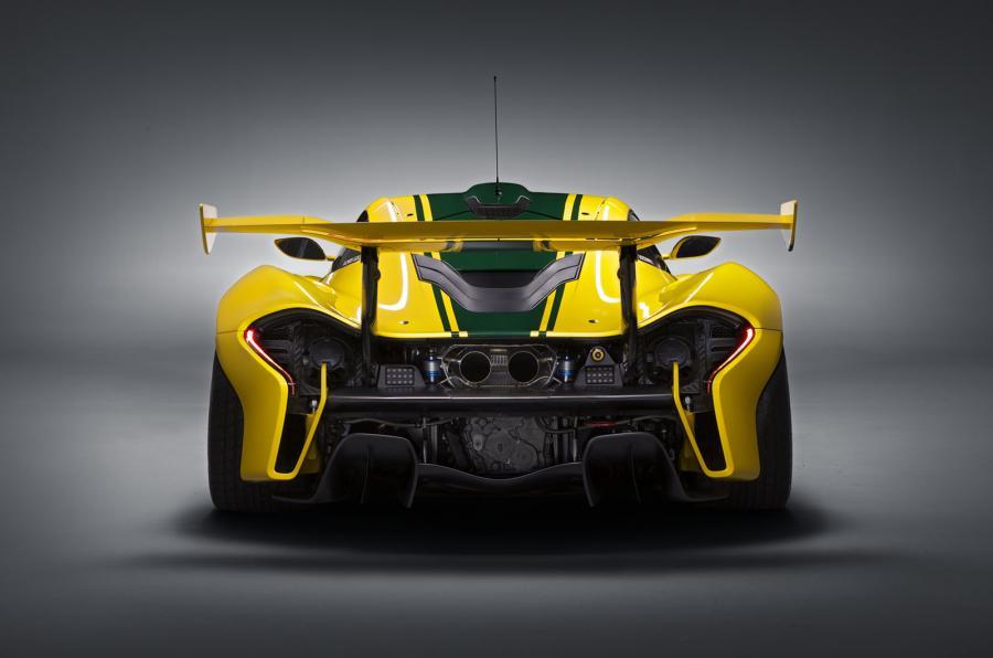 McLaren P1 GTR - Rear
