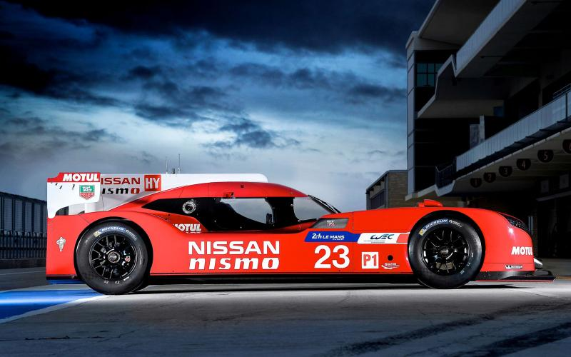Nissan GT-R LM Nismo profile