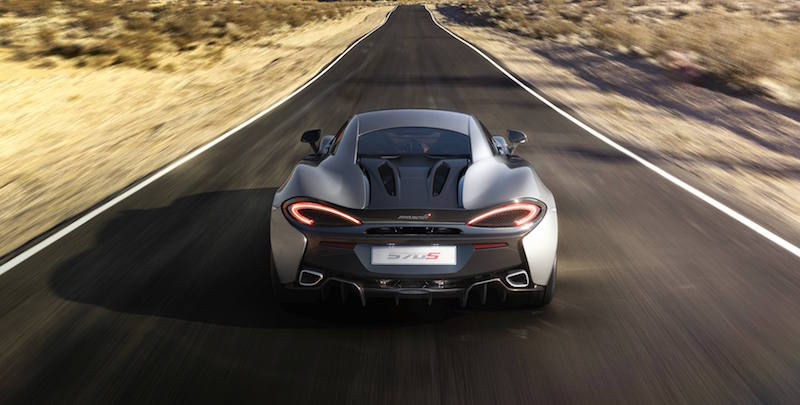 McLaren 570S rear