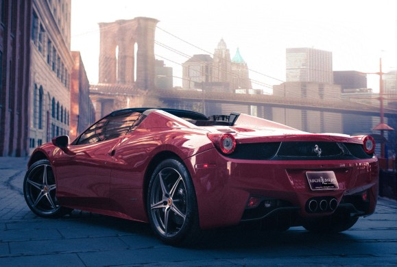 Ferrari 458 Spider - New York