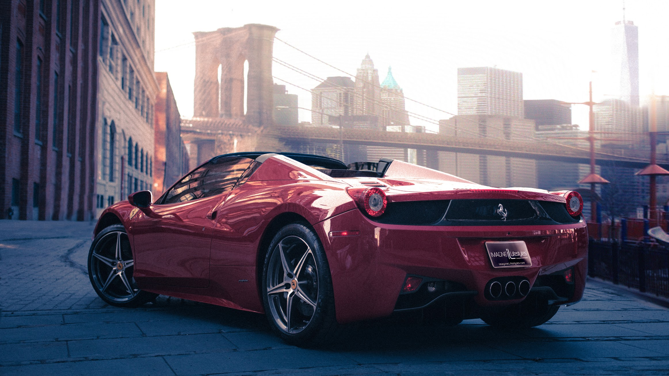 Ferrari 458 Spider - New York