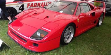 Ferrari F40 - Cholmondeley Pageant of Power