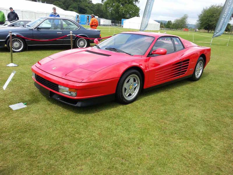 Ferrari Testarossa - Cholmondeley Pageant of Power
