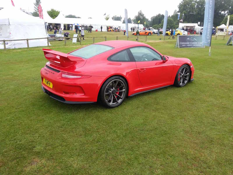 Porsche 911 GT3 - Cholmondeley Pageant of Power