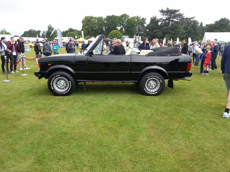 Range Rover Convertible - Cholmondeley Pageant of Power