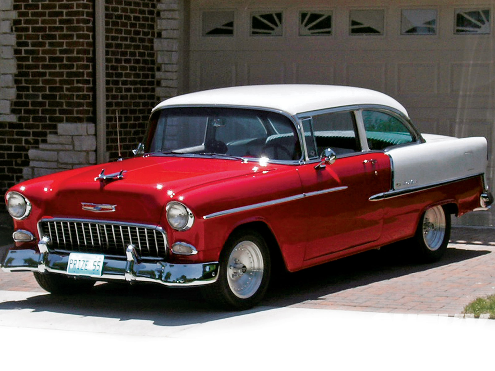 The 1955 Chevy Bel Air: The World\'s Most All-time Popular Car ...