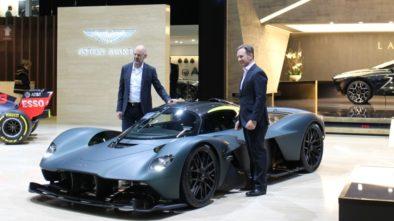 Geneva motor show Aston Martin